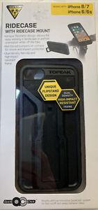 TOPEAK Smartphone Ridecase Holder 8/7/6/6s iPhone W Mount  New in Box