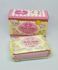 100 g Jellys Pure Soap Bar Glutathione 10.000 mg Whitening Face Body Skin