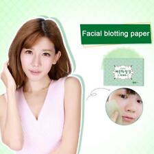 100pcs Facial Oil Control Papers Wipes Sheets Absorbing Face Blotting Clean UK