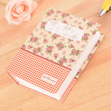 80 Pockets Floral Photo Album Scrapbook Memory Pictures Storage Hold Case Gifts