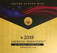 2018-S Reverse Proof American Innovation $1 Introductory Second Coin