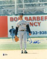 DON MATTINGLY SIGNED 8x10 PHOTO ROOKIE ERA SIGNATURE YANKEES RARE BECKETT BAS