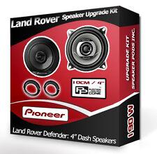 LAND ROVER DEFENDER FRONT DASH ALTOPARLANTI PIONEER Altoparlante Auto Kit + Distanziatori 190W