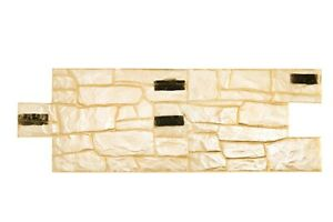 3D Granite Stone Stamp 2 pcs Vertical Decorative Impression Concrete Cement