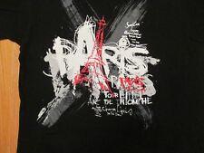 Paris Tour Arc de Triomphe  T Shirt Size XL