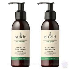 Sukin Hand and Nail Cream Pump 125ml PACK OF 2