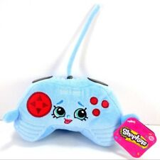"Shopkins CONNIE CONSOLE Blue Video Game Controller Stuffed Plush 6"" Long"