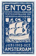(I.B-CKK) Netherlands Cinderella : Shipping Exhibition (Amsterdam 1913)