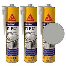 Dichtstoff und Klebstoff Sika Sikaflex-11 FC+ betongrau 3 Kartuschen