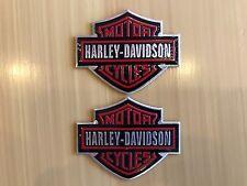 Harley Davidson Motorcycle Gas Tank Fuel Emblem Badge Shovelhead FL FLH FXWG FXE