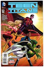 US TEEN TITANS # 19 John Romita Jr. variant cover (2014 Series) Robin DC