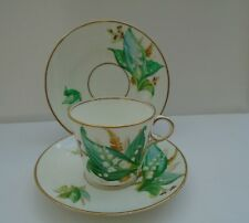 ANTIQUE TRIO LILY OF THE VALLEY 19TH CENTURY 1870's