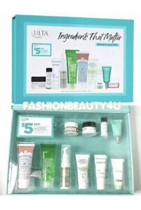 ULTA Love Your Skin Ingredients That Matter 10 Piece Skin Care Sampler Set  $91
