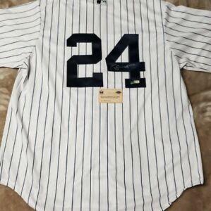 New York Yankee Autographed Replica Gary Sanchez Pinstripe Jersey