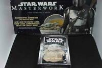 2020 Topps Star Wars Masterworks Hobby Case Mini Box -1 Hit- READ DESCRIPTION
