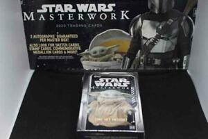 2020 Topps Star Wars Masterworks Hobby Case Mini Box -1 Hit- READ DESCRIPTION