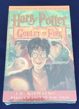 Harry Potter and the Goblet of Fire Year 4 CASSETTES NEW & SEALED J.K. Rowling
