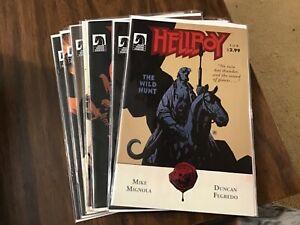 HellboyThebWild Hunt 1-8 VF/F+ Dark Horse Comics complete Set