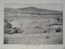 Cavate Dwellings Rio Verde Arizona Verde Valley 1897 GC