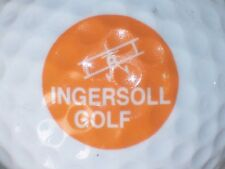 Ingersoll Golf Ingersoll Rand ? Plane Logo Golf Ball