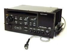 GMC Yukon Denali - 2002 AM FM CD Player Truck Radio w Aux 3.5 mm mp3 Input 183