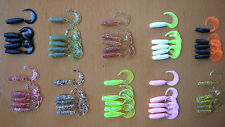 50 RELAX RUBBER FISH TWISTER - 3.5 CM USA HIT !!!