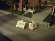 Ice Machines Bagged Ice Z Scale 1:220 Model Railroad Train Layout Detail Finishe