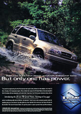 1999 Suzuki Grand Vitara - Power - Classic Vintage Advertisement Ad D185