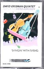 Svingin' With Svend by David Grisman Quintet (Cassette) BRAND NEW FACTORY SEALED
