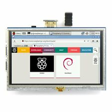 "5"" zoll TFT LCD 800*480 HDMI Touch Screen Display for Raspberry Pi DEShip"