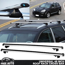Universal Roof Rack Cross Bar 48 Inches 120cm Adjustable with Lock