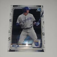 2020 Bowman Chrome Bobby Witt Jr BCP-160 Kansas City Royals 1st rd pick 2019!
