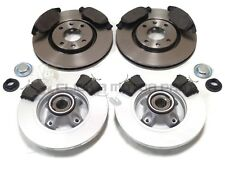 PEUGEOT PARTNER VAN 1.6 + HDi 2008-2017 FRONT AND REAR BRAKE DISCS & PADS NEW