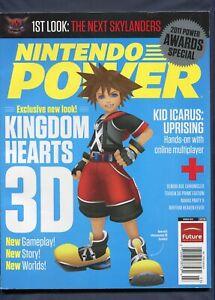 2012 Nintendo Power Magazine Vol #276 March 3DS Kingdom Hearts NewsStand Variant