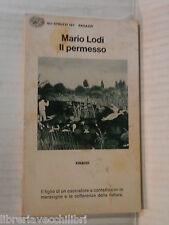 IL PERMESSO Mario Lodi Einaudi 1979 libro romanzo narrativa racconto storia di
