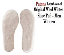Patons, Original Wool Winter Shoe Insole Pad Lambswool - Men Women