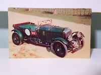 4 1/2 Litre 'Blower' Bentley! 1928 25 H.P. British! Vintage Advertising Card!