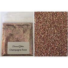 GLITTER MISTI NAIL GEL/Acrilico Nail Art Rose Oro Rosa 6g Borsa Champagne Rose