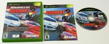 Original XBOX BURNOUT 2 POINT OF IMPACT DC Complete TESTED XBOX 360 Compatible
