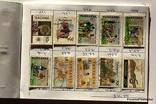Carnet de Circulation TANZANIE OUGANDA  timbres  voir les 12 photos GCA05
