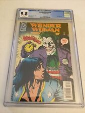 Wonder Woman 96 CGC 9.8 White Pages Joker Cover Brian Bolland Cover
