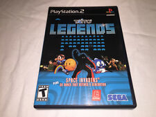 Taito Legends (Sony PlayStation 2, 2005) Black Label Original Complete Excellent