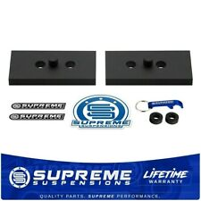 """Rear Axle Relocation Centering Plate FOR Vehicles w/ Rear 9/16"""" Pin Leaf Springs"""