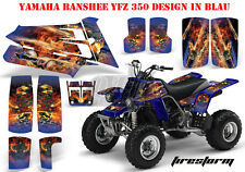 Amr racing décor Graphic Kit ATV yamaha le Hurleur yfz 350 Firestorm B