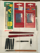 Calligraphy Tools And Supplies; Cartridges, Various Pens