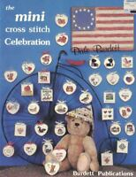 Dale Burdett the MINI CROSS STITCH CELEBRATION DB-91 1987 35 Mini Designs