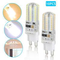 10 x LED G9 Warm/Daylight White LED Corn Bulb Lamp Light 120V AC Energy Saving