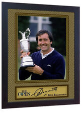Seve Ballesteros signed autograph Golf Memorabilia photo print Framed