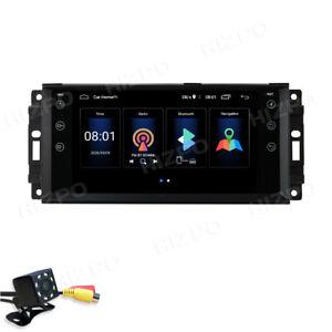 Dab + Android 10.0 Autoradio GPS fit Jeep Compass Wrangler Commander Chrysler