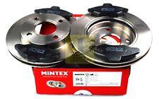 MINTEX FRONT BRAKE SET DISCS PADS FORD ESCORT '91 '95 V VI VII ORION III MDK0004